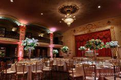Mayflower hotel wedding in washington, DC. Floral design by Petal's Edge.