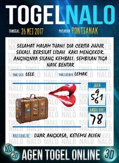 Pakong JP 4D Togel Wap Online TogelNalo Pontianak 26 Mei 2017