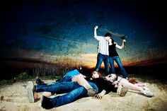 Love this zombie engagement photo session!    Collective Perception Photography