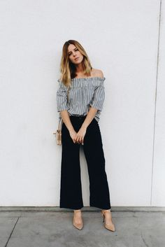 Shirt: take aim blogger pants shoes bag cropped wide-leg velvet pants black wide-leg velvet pants le