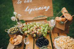 Auch salzige Leckereien - schön präsentiert in der Salty Bar - begeistern eure Hochzeitsgäste... | Tipps | Ideen | Snack-Vorschläge