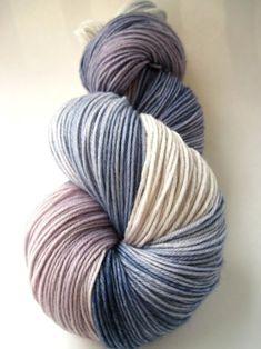 hand dyed yarn, hand painted yarn, handpainted yarn, superwash merino wool yarn…