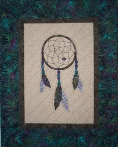 Dream Catcher Wall Hanging Quilt Pattern by QuiltLilyDesigns, $8.50