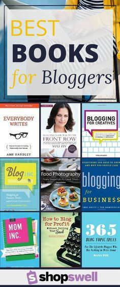 16 Best Books for Bloggers. If you blog for business, these are great resources for creating content, sharing via social media and cultivating a community. blogging tips, blogging ideas, #blog #blogger #blogtips