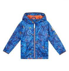 1bbf6eb52 Ted Baker Baby Boys Rain Jacket Coat Frog Lightweight Blue DESIGNER 12-18  Months for sale online