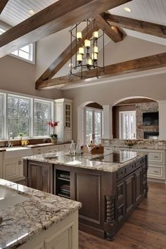 Open Kitchen - Click image to find more Home Decor Pinterest pins
