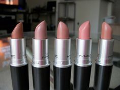 nude lipsticks from MAC