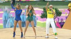 Claudia Leite, Jennifer Lopez e Pitbull cantam a música da Copa na cerimônia de abertura; Assista. http://newsevoce.com.br/?p=10228