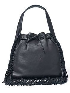 d00679511cbd Fringed Leather Sling Bag - Polo Ralph Lauren Shop All - RalphLauren.com
