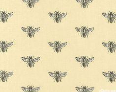 Napoleonic Bee fabric - Chai