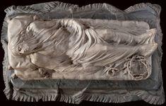 Giuseppe Sanmartino, The Veiled Christ, 1753, Sanevero Chapel Veiled Christ by Giuseppe Sanmartino