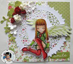 Helen's Crafty Shed: Homura Angel