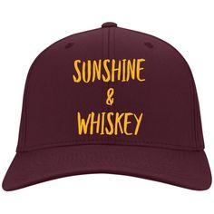 Sunshine & Whiskey Ladies Authority Baseball Cap