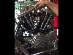 Panhead Motor Bench Test
