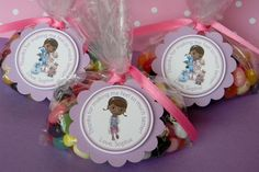 Doc McStuffins Birthday Party Favor Thank You