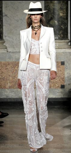 Emilio Pucci. Spring 2012. Milan Fashion Week. #fashion