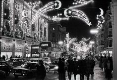 Of all the home businesses out there, Christmas Light Installation businesses may be one of the best kept secrets around. Most people think of hanging Christmas lights as a low paying, low potential, grunt work job, and therefore they Vintage Christmas Photos, Vintage Holiday, Christmas Pictures, Vintage Photos, Xmas Photos, Christmas Light Show, Hanging Christmas Lights, Holiday Lights, Christmas Displays