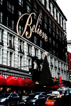 NEW YORK CITY Macy's... Christmas time. The only Macy's store that I think of around the holiday's.