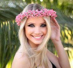 acessório, casamento, flower crown, coroa de flores, tiara de flores, coroa de flores comprar, g.offer, tiara de flores comprar, tiara de flores pequenas, tiara de flores casamento, acessórios para cabelo, coroinha de flores - G.Offer