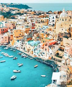 Place to go once in life #Costiera #Amalfitana, this is #Procida!