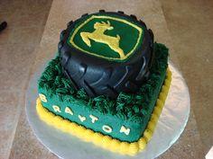 John Deere Birthday cake!!