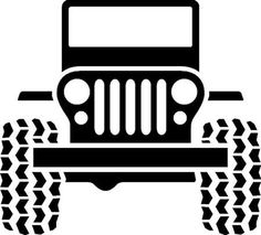 JEEP DECAL Car Wall Art Decals- pick the color