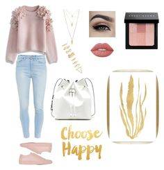 """""""Untitled #32"""" by sosa9512 ❤ liked on Polyvore featuring Paige Denim, Common Projects, Chicwish, Forever 21, Sole Society, Lime Crime, Bobbi Brown Cosmetics and Barclay Butera"""