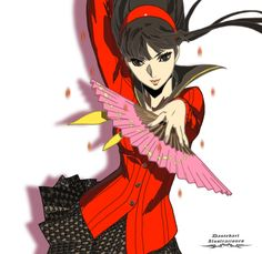 Persona 4 Yukiko Amagi Illustration. The desing, the draw and the colour were all made by me.  If you wanna buy any of my products you can do it through :  http://www.redbubble.com/people/dantedart  For more of my work:  https://www.facebook.com/Dantedart-Ilustraciones-1076352039043127/?ref=bookmarks  All rights reserved.
