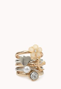 Dainty Ring Set | FOREVER 21 - I want this!