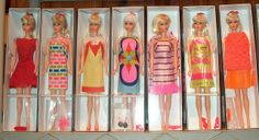 All sizes | 1967-1970 Vintage MOD TNT Barbies, via Flickr.