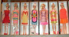 All sizes | 1967-1970 Vintage MOD TNT Barbies, via Flickr.