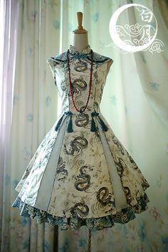 Upcoming ✣✤♡~Qi Lolita JSK and Handbag~♡✣✤ from White Moon