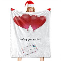✅A personalized blanket can be used as a blanket as well as a bed throw or sofa/settee throw. Great for Naptime, tummy time, using as a car seat blanket, or even for swaddling! ✅Our flannel blanket is machine washable (cold only); do not tumble dry, iron, bleach, or dry clean. ✅In addition to personal comfort, the premium blanket is also a great gift option for almost any occasion such as Halloween, Christmas, Birthday, Anniversary, etc. Car Seat Blanket, Dog Blanket, Photo Blanket, Settee Sofa, Halloween Christmas, Christmas Birthday, Flannel Blanket, Tummy Time