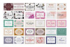 Weinetiketten zur Hochzeit | Design: Paper & Soul