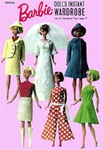 Sewing Pattern for Barbie Doll Clothes