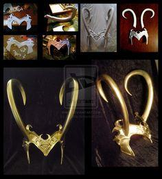 Oh wow! This Loki helmet looks amazing!