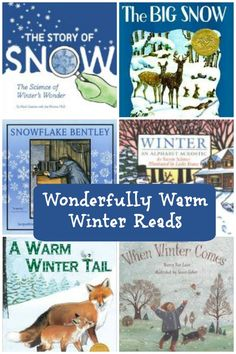 Awesome Winter books for kids and teens - picture books & chapter books with winter themes. Wonderful read alouds for preschool, kindergarten, elementary and middle school and fun for winter break! Winter Activities, Book Activities, Preschool Winter, Sequencing Activities, Reading Resources, Reading Lists, Library Books, My Books, Winter Kids