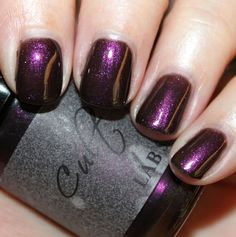 Cult Nails Hypnotic Collection for Fall 2011 Swatches & Review   Vampy Varnish