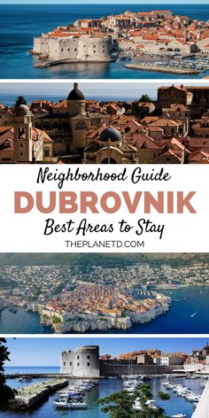 Where to Stay in Dubrovnik - A Guide to the Best Neighborhoods, TRAVEL, Where to stay in Dubrovnik – A guide to the best neighborhoods. Old Town is a hub for main attractions, while Babin Kuk offers a variety of luxury h. Backpacking Europe, Europe Travel Tips, Travelling Europe, Europe Packing, Italy Travel, Croatia Travel Guide, Krka National Park, Visit Croatia, Dubrovnik Croatia