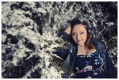 Type A Senior Portraits ~ Winter Senior Portraits ~ Snowy Senior Portraits
