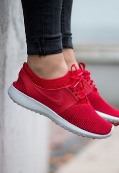 super popular f9e2c ae751 Nike Juvenate Textile  Red Red Nike Shoes, Red Nike Running Shoes,  Balenciaga Shoes