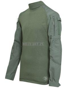 Tru-Spec bluza Combat Shirt OD - Cordura Baselayer - Military.pl - AirSoft - ASG, wiatrówki, militaria, odzież militarna, takatyka, noże, plecaki, zegarki - Military.pl