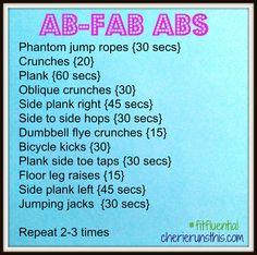 Ab-fab ABS!