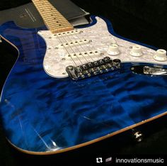 """G&L Musical Instruments (@glguitars) on Instagram: """"#Repost @innovationsmusic ・・・ Check out the quilt on this custom G&L Legacy! What's your favorite…"""""""