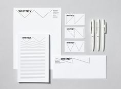 new whitney museum identity by experimental jetset