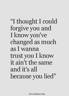 If u dont have trust, u have nothing
