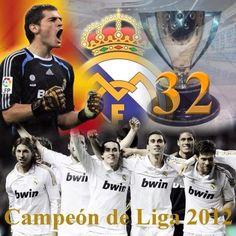 Campeón 2011/2012 #RealMadrid
