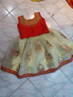 Best 12 Whatsapp on 9496803123 to customise handwork and cutwork – SkillOfKing. Baby Girl Frocks, Frocks For Girls, Dresses Kids Girl, Kids Outfits, Baby Dresses, Kids Indian Wear, Kids Ethnic Wear, Kids Dress Wear, Kids Gown