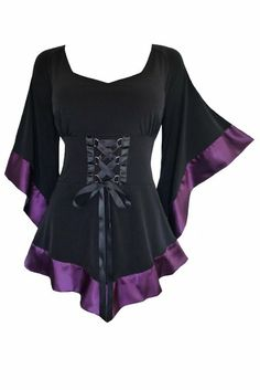 FASHION to enter Website click right HERE   http://www.a-real-deal.com/fashion GOTH WEAR Fashion Dare To Wear Victorian Gothic Women's Plus Size Treasure Corset Top