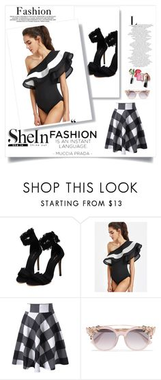 """""""sheinside contest"""" by ajsajunuzovic ❤ liked on Polyvore featuring Jimmy Choo"""